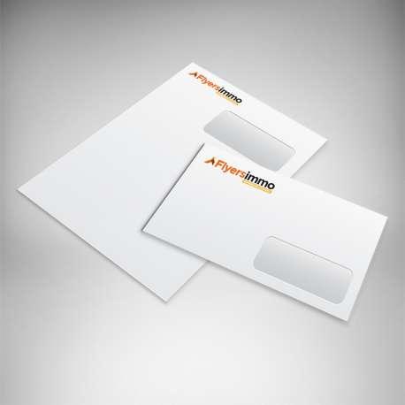Enveloppes personnalisées immobilier