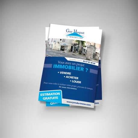 flyers immobilier gratuit