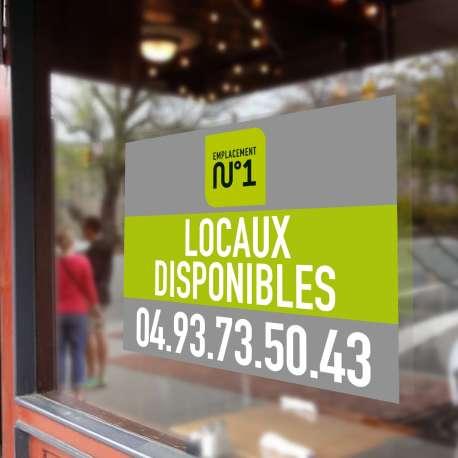 Impression en ligne de vos adhésifs vitrine magasin