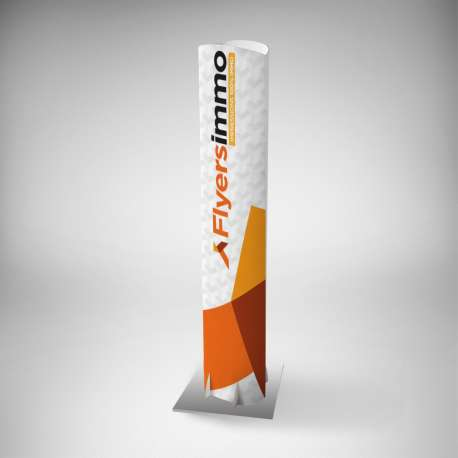 Totem immobilier carton