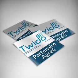 Impression stickers papier personnalisés