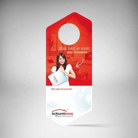 Impression Accroche Porte Immobilier à Prix Discount - Accroche porte