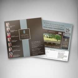 Impression flyers vernis UV dès le papier 135g