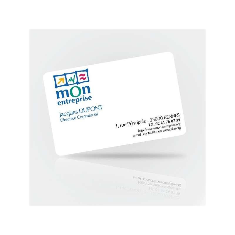 Carte De Visite PVC Mat Cartes Plastique