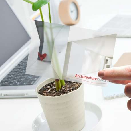Imprimerie cartes de visite papier calque