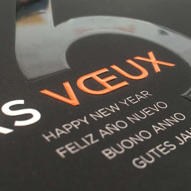 Cartes De Visite Vernis 3D Discount