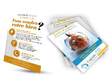 Flyers immobilier